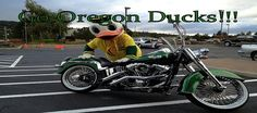Oregon Duck Bike!