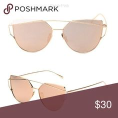 1 Rosegold/ gold and Pink left Availability:  Rose gold -1 Unbranded *listed as Free People for exposure Free People Accessories Sunglasses