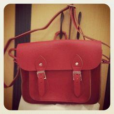 I love my cambridge satchel! ♥♥♥