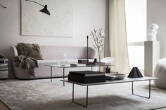 This dreamy apartment in Stockholm by Swedish company Oscar Properties was styled byAnnaleena Leino Karlsson whose work I love. Whether it's her new home, new studio, her latest design pieces or styl
