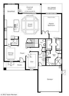 Key Largo Iii By Homes By West Bay At Connerton Floor
