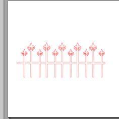 Fichier sst ** barrière ** pour silhouette studio cameo - scrapbooking carterie silhouette cameo tuto astuce scrap image tube numérique crea...