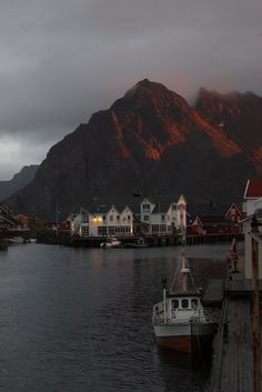 "travelingcolors: "" Svolvaer, Lofoten Islands | Norway (by davidgrigoryan 87) """