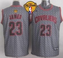cavaliers 23 lebron james grey static fashion the finals patch stitched nba jersey