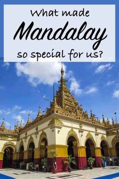 What Made Mandalay So Special For Us? Mandalay was wonderful. But what made it so special? Was it the temples, monastery, schools or waterfalls we visited? Currency, eVisa, bus, accommodation. #mandalay #myanmar #burma #travel #accommodation #transport #insurance #waterfall #temples