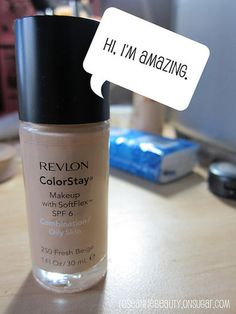 i have this makeup and it is the best ever!!! im just savin it for summer cause i got 1 shade too dark but this stiff is HEAVEN... Review: Revlon ColorStay Foundation – Combo/oily & IMATS | roseannetangrs