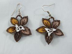 turkish oya earrings