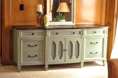 Guest Room?    Remodelaholic » Blog Archive Wooden Dresser Painted Green; Furniture Redo » Remodelaholic