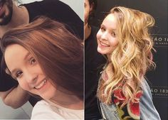 Resultado de imagem para fotos do cabelo da larissa manoela loiro