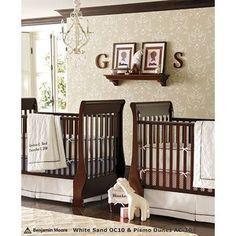 twin nursery idea