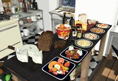 Food conversions for The Sims 4