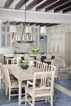 Whitewashed kitchen