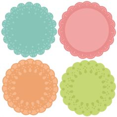 Daily Freebie 1-2-15: Miss Kate Cuttables--Doily Set SVG cutting files doily cut files for scrapbooking clip art clipart doily cut files for cricut free svg cuts