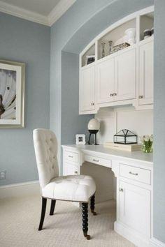 built-in desk by rachelle