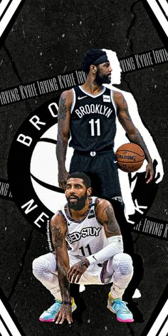Irving Wallpapers, Nba Wallpapers, Basketball Art, Love And Basketball, Kyrie Irving Logo Wallpaper, Kyrie Irving Brooklyn Nets, Nba Kings, Best Nba Players, Sports Advertising