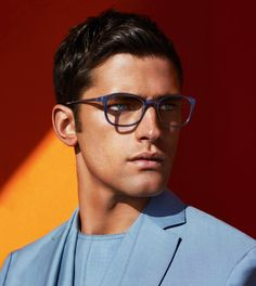 Supermodel Sean O'Pry stars in Salvatore Ferragamo 's Spring Summer 2014advertisement captured by fashion photography duo Mert A...