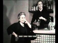 June 9, 2013: italian locals elections. Titina De Filippo, italian theatre actress, and the vote (1960)