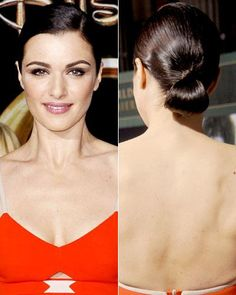 Stylist Secrets to Our Favorite Celebrity Updos: Rachel Weisz's Sleek Low Bun