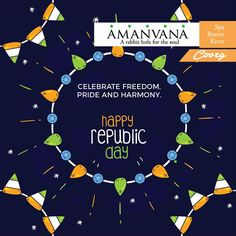 Republic Day Celebrations at Amanvana Spa. Let's celebrate Republic Day with utmost patriotism and pride. Join us.