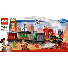 Brand New Lego Toy Story 2 7597 Western Train Chase Exclusive Hamm and Rex Figs
