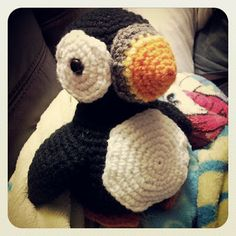 Crochet Crafts: Puffin