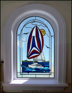 Arched window yacht design