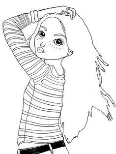 topmodel malen | dolls | colorful drawings, tumblr drawings, dress drawing