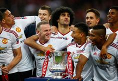 Manchester United, 2016 FA Cup winners