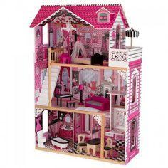 Pink Durable Nad High Quality Amelia Dollhouse Puppenstuben & -häuser