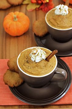 Pumpkin Pie Latte Cups