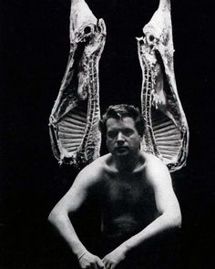 Francis Bacon, photographed by John Deakin for Vogue, 1962 Francis Bacon, Vita, Ali, Black And White, Artists