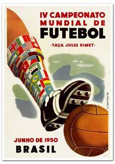 Afiche Brasil 1950