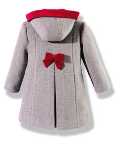 abrigos niña | Enviar a un amigo Imprimir Ampliar Little Girl Fashion, Toddler Fashion, Kids Fashion, Baby Coat, Baby Kind, Little Girl Dresses, Kids Wear, Baby Dress, Mantel