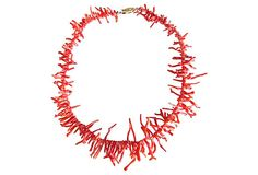 Coral Twig Necklace on OneKingsLane.com from Maxwell's 9.13.34.  Sold!
