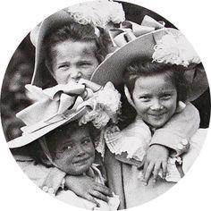 Grand Duchesses Olga, Tatiana, and Maria (Marie) Nikolaevna Romanova
