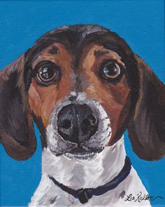 Hey, I found this really awesome Etsy listing at https://www.etsy.com/uk/listing/256383044/beagle-art-print-from-original-painting