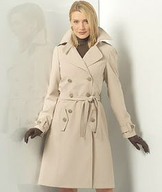 How good is that?: Trench coat sewing