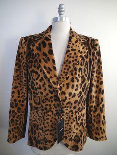 http://www.athenefashion.com/ebay/quick-ends-soon-new-dolce-gabbana-leopard-print-corduroy-jacket-blazer-womens-italian-size-48/ nice Quick Ends Soon NEW DOLCE & GABBANA leopard print corduroy jacket blazer women's Italian size 48