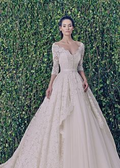 Zuhair Murad Bridal Fall 2014 - 2015: Jessica dress + coat