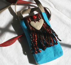 Off the Beaten Path, a pocket pouch bag by MiZenDesigns on Etsy