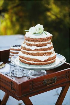 Unique Wedding Cake Flavours for a 2015 Wedding