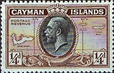 Cayman Islands 1935 King George V Head and Map SG 96 Fine Mint SG 96 Scott 85 Other Cayman Island Stamps HERE