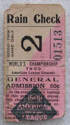 1909 World Series Gm 4 Pirates at Tigers