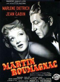 """#004 - """"Mulher Perversa"""", de Georges Lacombe (1946). Neste noir meia-boca temos uma Marlene Dietrich sem luz e um Jean Gabin no piloto-automático."""