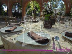 #BodaMonica&Marco en Hacienda Bugambilias #Beige #Chocolate #Verde #Vintage