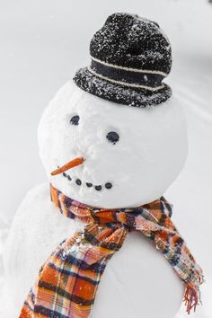 I love a good-looking snowman!