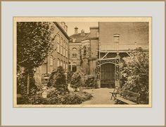 De tuin van het St. Liduina gesticht,  nu Huize Frankeland