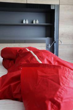 Agu rainwear from The Netherlands original rubber coated rainwear suit Rubber Raincoats, Pvc Coat, Rain Wear, Netherlands, Bean Bag Chair, Suits, The Originals, Sportswear, Plastic Pants