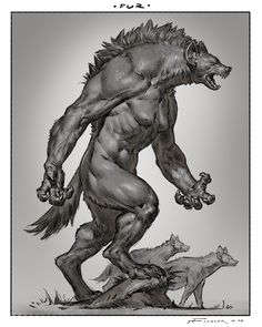 Mythological Creatures, Fantasy Creatures, Mythical Creatures, Female Werewolves, Vampires And Werewolves, Female Monster, Fantasy Monster, Monster Concept Art, Monster Art