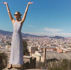 Karlie Kloss à  Barcelone http://www.vogue.fr/mode/mannequins/diaporama/la-semaine-des-tops-sur-instagram-avril-2016/30682#karlie-kloss-a-barcelone